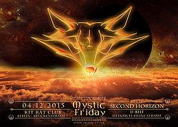 Party Flyer Mystic Friday meets Second Horizon 4 Dec '15, 23:00