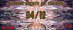 Party Flyer PSYLENT SOCIETY vs. THE 90´s ♫ 4 Dec '15, 22:00