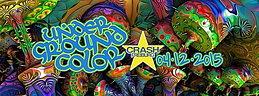 Party Flyer Underground Color // Krumelur {Zenon Records|| Berlin} @ Crash Freiburg 4 Dec '15, 23:00