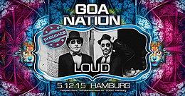 Party Flyer GOA NATION - HAMBURG 5 Dec '15, 22:00