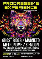 Party Flyer Progressive Experience with GHOST RIDER / METRONOME / MAGNETO / SI-MOON 5 Dec '15, 23:00