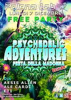 Party Flyer ★ PSY ADVENTURES ★ FESTA DELLA MADONNA EDITION ★ 7 Dec '15, 23:30