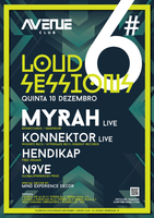 Party Flyer Loud Session #06 10. Dez. 15, 23:30