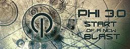 Party Flyer Φ PHI 3.0 - START OF A NEW BLAST!!! Φ || 11 Dec '15, 23:00
