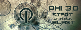 Party Flyer PHI 3.0 - START OF A NEW BLAST! 11 Dec '15, 23:00