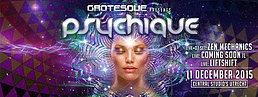 Party Flyer Psychique 11 Dec '15, 22:00