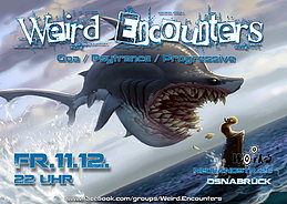 Party Flyer Weird Encounters 11 Dec '15, 22:00