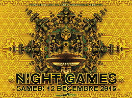 Party Flyer NIGHT GAMES - Morphonic rec 10 years anniversary 12 Dec '15, 23:00