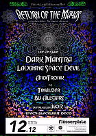 Party Flyer Return of the Mayas - Psychedelic Trance Dance 12 Dec '15, 22:00