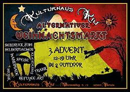 Party Flyer Alternativer Weihnachtsmarkt Lichtenberg 13 Dec '15, 12:00