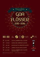 Party Flyer GOAFLÖSSER MIT CRASH KID COMPANY & RHYTHM OF THE MOON 17 Dec '15, 21:00