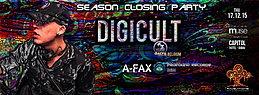 Party Flyer RAVELATIONS Season Closing Party feat DIGICULT (Dacru Records, Belgium) & A-Fax 17 Dec '15, 22:00