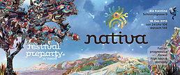 Party Flyer Nativa Festival Preparty @ Die Kantine 18 Dec '15, 23:00