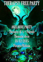 Party Flyer Therapsy Akelarre FREE PARTY 18 Dec '15, 22:00