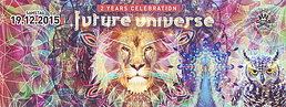 Party Flyer Future Universe w/ Astrix & Silent Sphere 19 Dec '15, 22:00