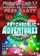 Party Flyer ★ PSY ADVENTURES ★ CHRISTMAS EDITION ★ 25 Dec '15, 23:30