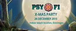 Party Flyer Psy-Fi X-Mas party 26 Dec '15, 22:00