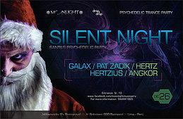 Party Flyer Silent Night - Santa's psychedelic Xmas party 26 Dec '15, 21:30