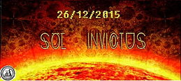 Party Flyer Sol Invuctus 26 Dec '15, 22:00