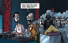 Party Flyer BONN GOA SILVESTER - Die dunkle Bedrohung 31 Dec '15, 22:00