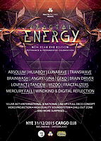 Party Flyer Fractal Energy - New Year Eve Edition 31 Dec '15, 20:00