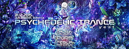 Party Flyer ⌘ Psychedelic trance NEW YEAR ⌘ 31 Dec '15, 22:00