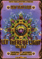 Party Flyer Vortex Trance Adventures & MindZone @ Rote Fabrik 31 Dec '15, 22:00