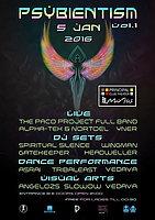 Party Flyer PSYBIENTISM VOL. I 5 Jan '16, 21:00