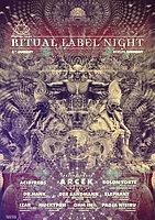 Party Flyer Popol Vuh Records Ritual Label Night 8 Jan 2016 8 Jan '16, 22:00