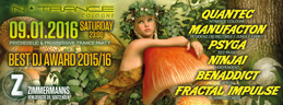 Party Flyer BEST DJ AWARD 2015/16 9 Jan '16, 23:00