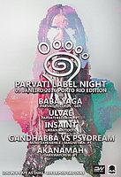 Party Flyer PARVATI LABEL NIGHT - PORTUGAL - BY DIGITAL WAY & DARKWAY CREW 9 Jan '16, 23:30