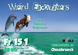 Party Flyer Weird Encounters 15 Jan '16, 22:00