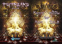 Party Flyer PsyFreaks 29 Jan '16, 22:00