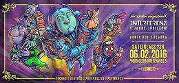 Party Flyer 6 Jahre Interferenz Bday - Wir werden eingeschult :) 6 Feb '16, 22:00