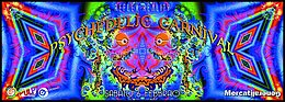 Party Flyer PSYCHEDELIC CARNIVAL | PARASECT LIVE 6 Feb '16, 23:00