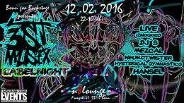 Party Flyer BONN GOA ►3st Musix Labelnight 12 Feb '16, 22:00