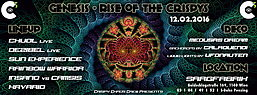 Party Flyer GENESIS - Rise of the Crispys 12 Feb '16, 22:00