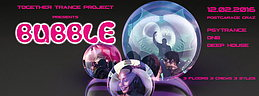 Party Flyer BUBBLE @ Postgarage Graz 12 Feb '16, 23:00