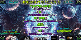 """DIMENSION X PRESENTS : """" SIGNALS FROM INNER SPACE """" 13 Feb '16, 22:00"""