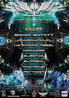 Party Flyer Mind Manifest Project 10 Year Anniversary 19 Feb '16, 22:00
