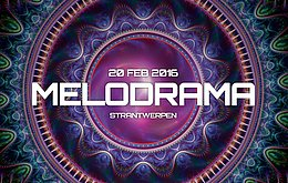 Party Flyer B2B presents: Melodrama! Vibe Tribe Retro set, DaVinci Code and much more! 20 Feb '16, 23:00