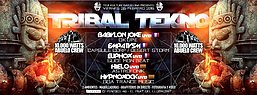Party Flyer 26/02 ★ Teuf Kulture Party ★ Tribal Tekno ★ 26 Feb '16, 23:30