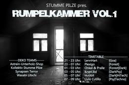 Party Flyer Rumpelkammer Vol.1 27 Feb '16, 21:00