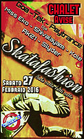Party Flyer Skatafashion 27. Feb. 16, 22:00