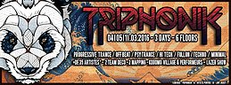 Party Flyer TRIPHONIK FESTIVAL#4 3 Mar '16, 23:00