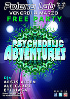Party Flyer ★ PSY ADVENTURES - Friday Party ★ 4 Mar '16, 23:30