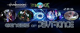 Party Flyer * GENESIS OF PSYTRANCE 2016 * Gaby + Rigel 5 Mar '16, 23:00