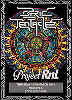 Party Flyer OZRIC TENTACLES + PROJECT RNL 10 Mar '16, 19:00