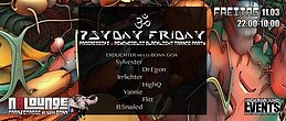 Party Flyer Bonn Goa ERDLICHTER 11 Mar '16, 22:00