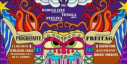 Party Flyer Progressive Freitag 11 Mar '16, 22:00